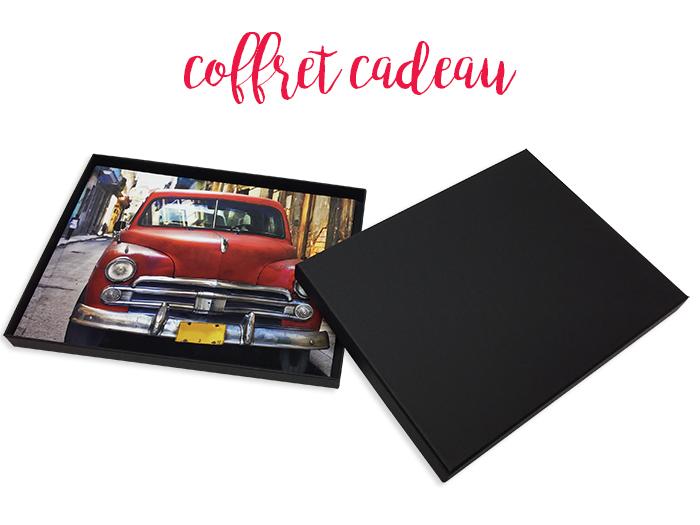 Offrez un livre photo dans un coffret cadeau