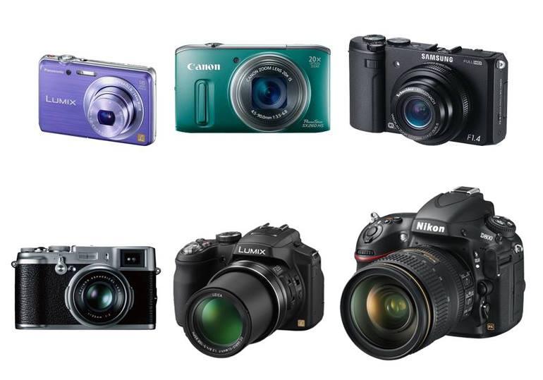 Les différents types d'appareils photos numériques : compact, bridge, hybride et reflex - 7 conseils pour choisir son appareil photo numérique par grainedephotographe.com spécialiste des cours photos sur Paris et en province
