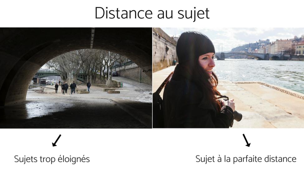 5 erreurs de débutant qui gâchent vos photos  - distance au sujet